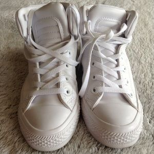 a768325f7c60 Converse Shoes - Chuck Taylor Brookline leather mid sneakers